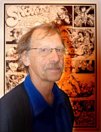 portr�ffbild p� Ulf Rahmberg framf�r en serie